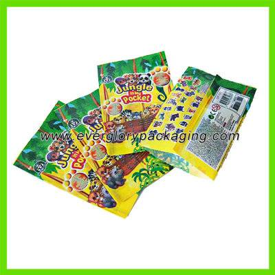 Customized Plastic Bag Printing for Figures Pack