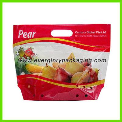 Custom Printed 2LB Pear Packaging Pouch Bag
