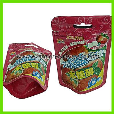 printed stand up candy packaging bag