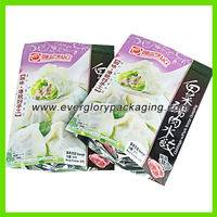 frozen food packaging pouch bag,Stand up frozen food packaging pouch bag,Stand up frozen food packaging pouch bag for dumplings