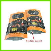 laminated food bag,laminated food bag with ziplock,Stand up laminated food bag with ziplock