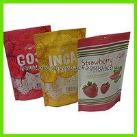 plastic food bag,Stand up plastic food bag with ziplock,Vivid printed Stand up plastic food bag with ziplock