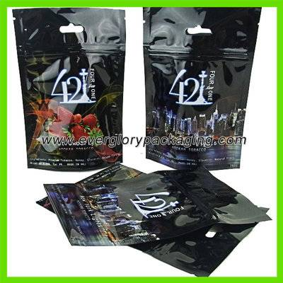 High quality vivid printed resealable stand up pouch