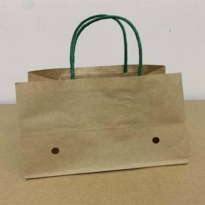 customized wet strength paper grape bag with ventilation