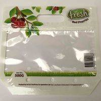 cherry bag,plastic cherry bag,cherry bag with zipper