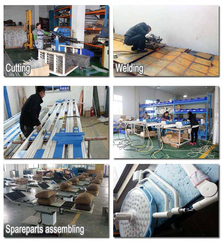 double head led operating lamp process